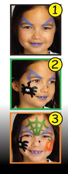 Maquillaje de brujita