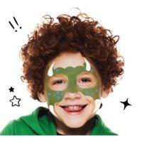 Maquillaje de Monstruo Verde