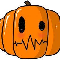Careta de Calabaza de Halloween