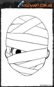 Careta de momia